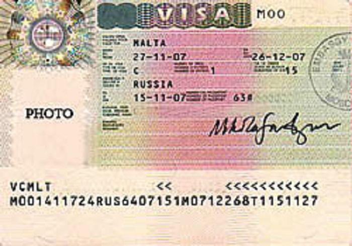 Как визу на мальту сделать
